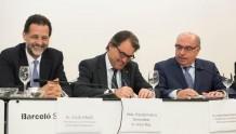 El President de la Generalitat va fer la cloenda de la 38ena Assemblea de la Unió Provincial d'Estanquers de Barcelona,